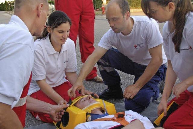 Gemeinsam üben für den Notfall