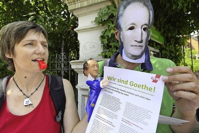 Krach am Goethe-Institut: Sprachlehrer beklagen schlechte Bezahlung