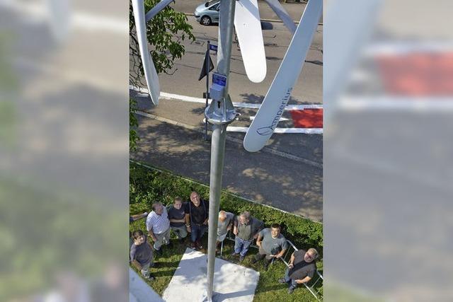 Schillerschule baut eigenes Windrad