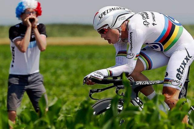 Tour de France: Tony Martin gewinnt Einzelzeitfahren