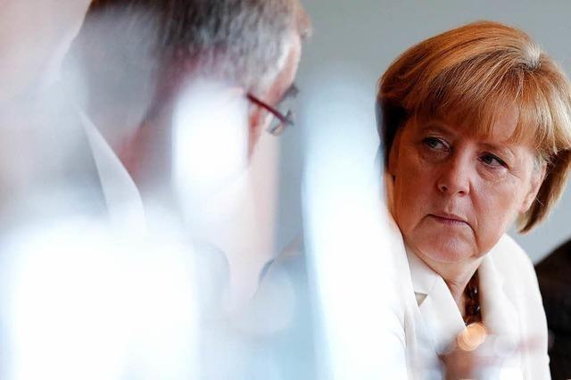 Merkel verteidigt Spionage