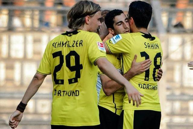 Basel verliert 1:3 gegen Dortmund