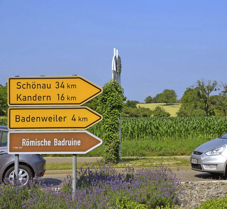 Ein Baugebiet zwischen den Landesstraß...ehrsanbindungen schon vorhanden sind.   | Foto: Babeck-Reinsch