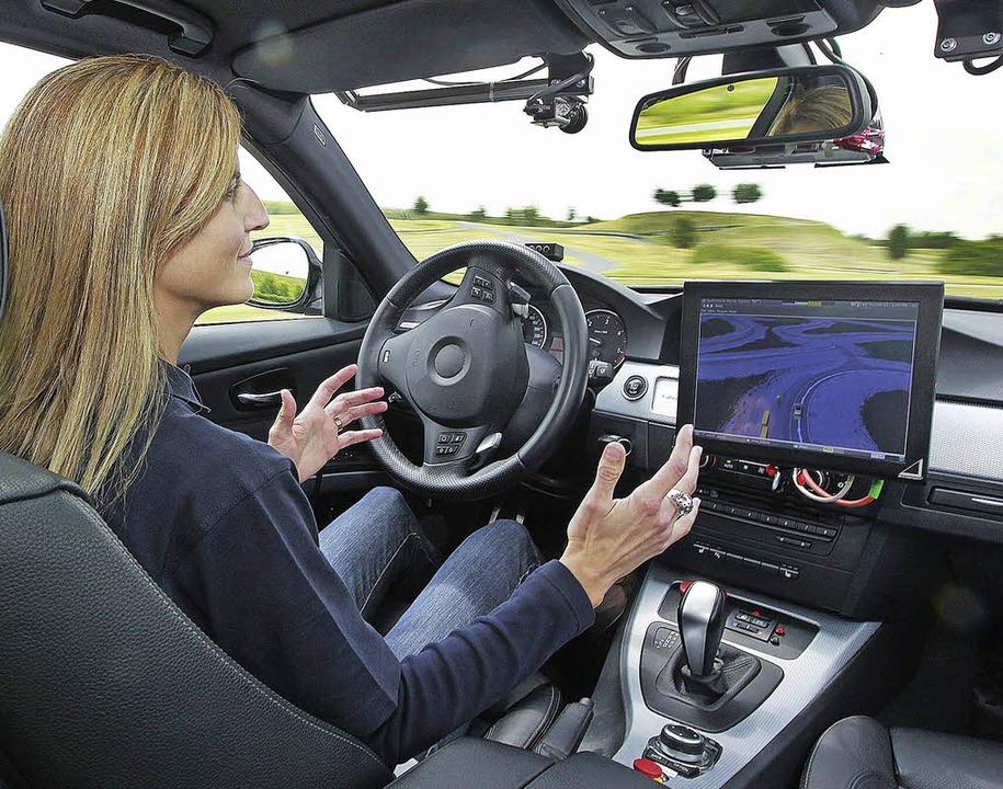Selbstlenkendes Fahrzeug  | Foto: Bosch