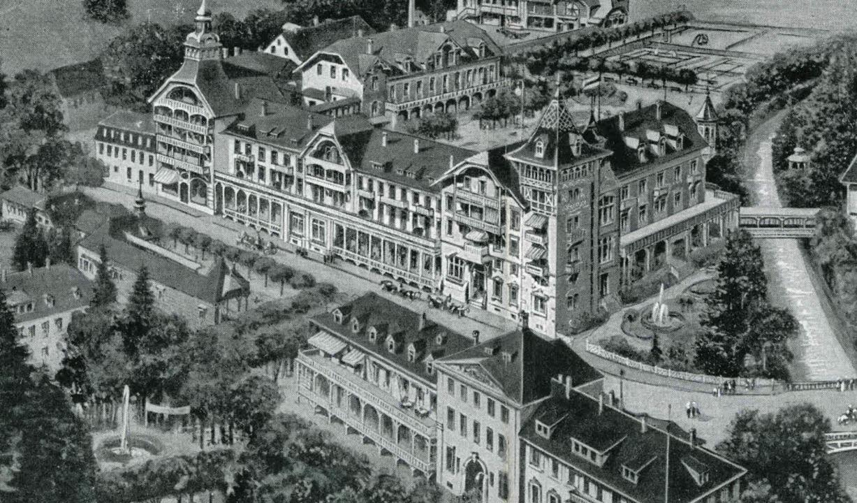 Im noblen St. Blasier Kurhaus stiegen ...t die  Menschen von Welt und Geld ab.   | Foto: Archiv Thomas Mutter