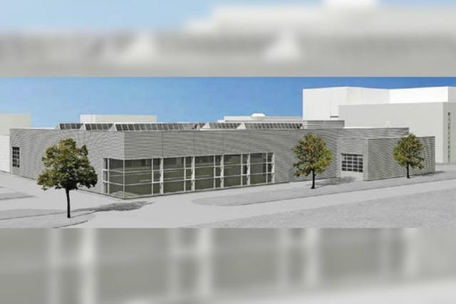 Am E+H-Campus wird weiter gebaut