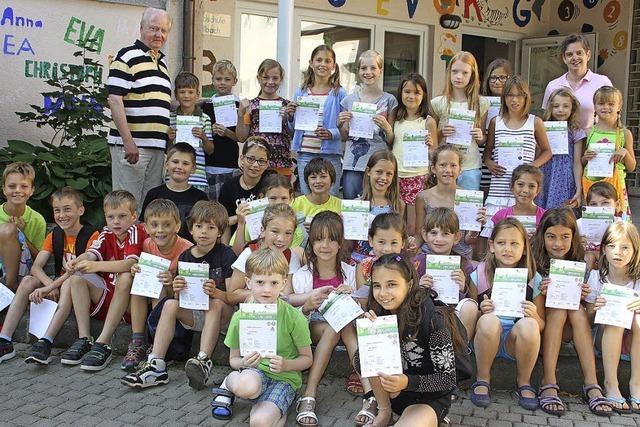 Sportliche Kinder in Wallbach