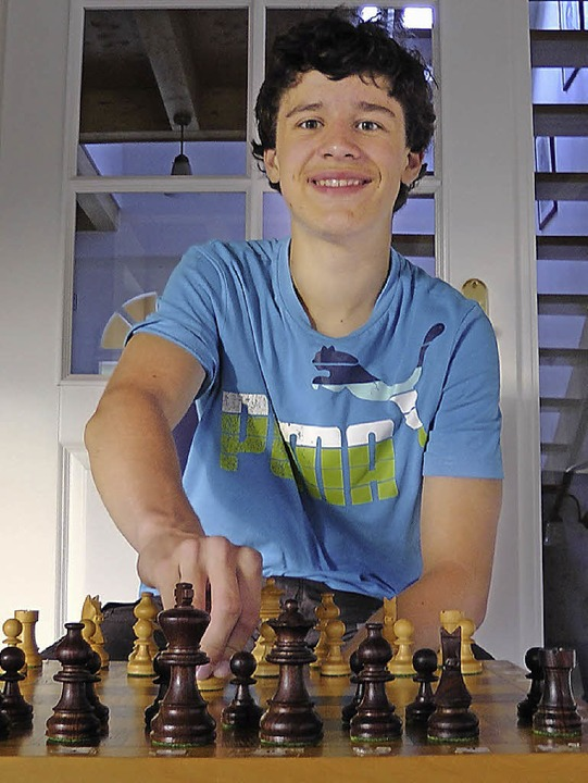 Julian Boes ist Sieger der Schach Open am Zürichsee.   | Foto: raske