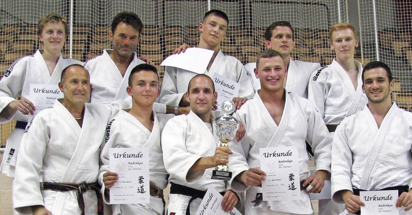 Die Athleten des TVH: Liam Grunwald, R...tstock, Daniel Witt (vorne von links)   | Foto: schultis