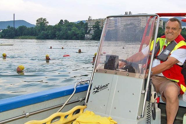 Rheinschwimmen: Kühles Nass an heißen Sommertagen