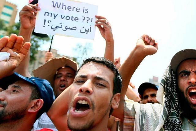 Muslimbrüder strömen nach Kairo