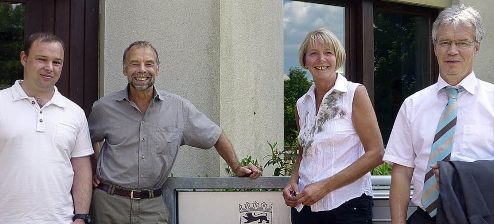 Die Gesellschafter und der Geschäftsfü...e Facchinetti und Wolfgang Schilling.   | Foto: Liane Schilling