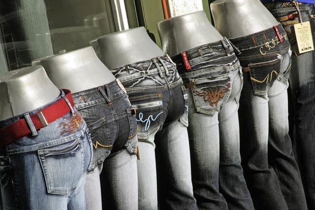 Eine Berliner Fabrik stellt Jeans in Deutschland her