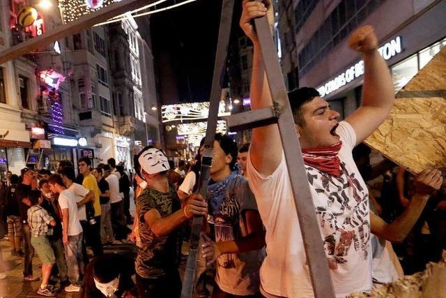 Proteste und Polizeiübergriffe in der Türkei