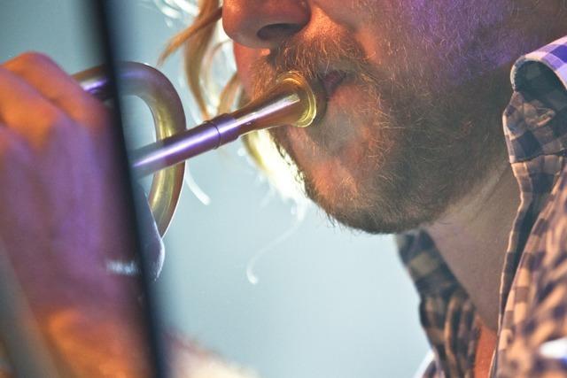 Fotos: La Brass Banda beim ZMF in Freiburg