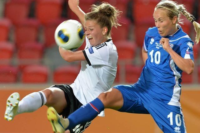 Mit Leupolz läuft's besser – DFB-Frauen gewinnen 3:0
