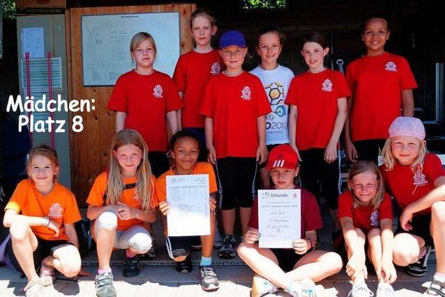Das Kreisschülersportfest in Teningen