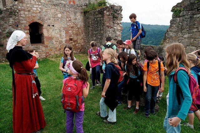 Ein Ausflug auf die Hochburg
