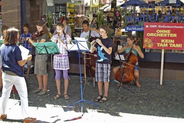 Musikalischer Protest gegen die Fusion