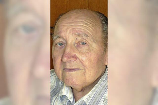 Alfred Mick wurde 85 Jahre