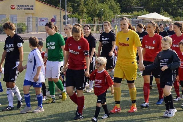In Gottenheim ist Frauenfußball in