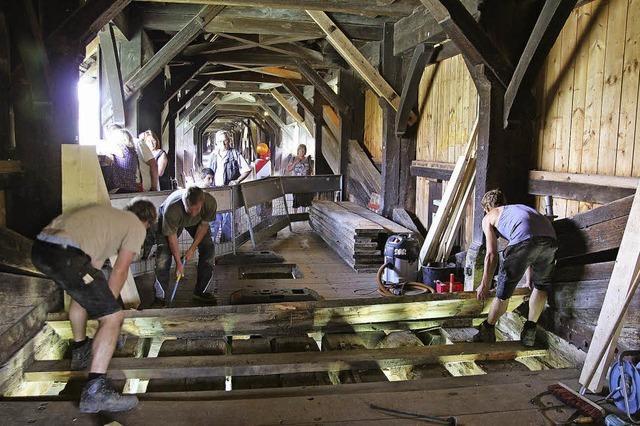 Wie ist der Zustand der Bad Säckinger Holzbrücke?