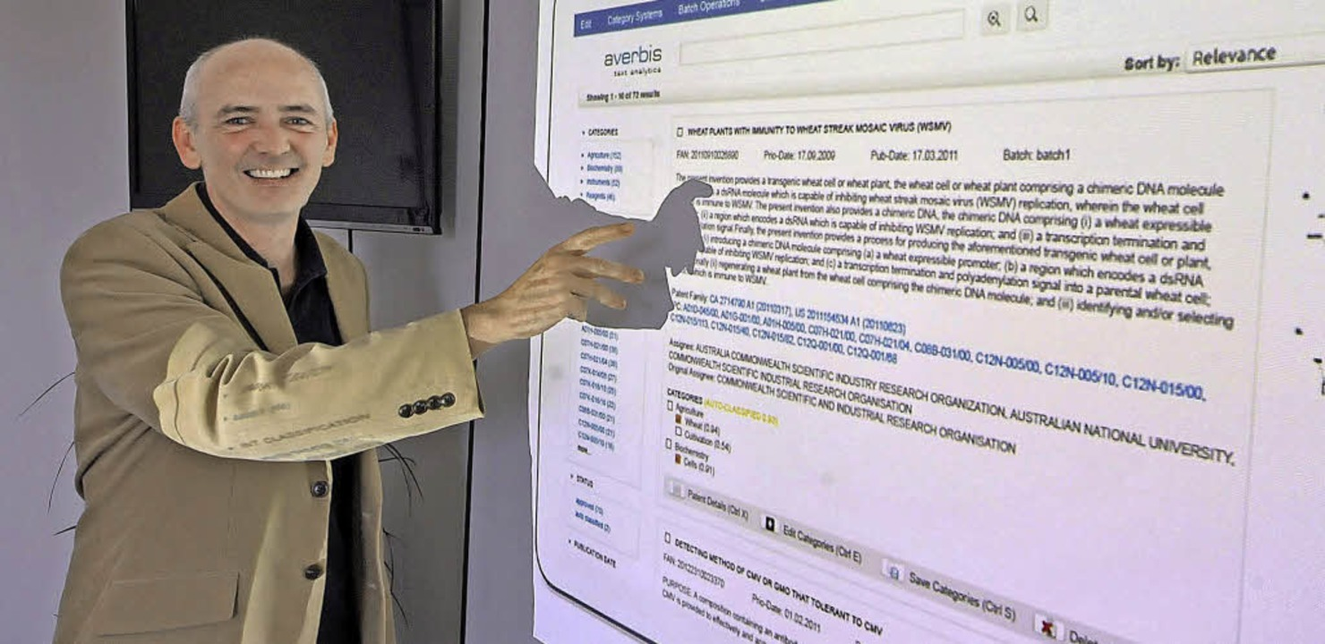 Averbis-Geschäftsführer Kornél Markó v... womit seine Firma ihr Geld verdient.   | Foto: MichAel Bamberger