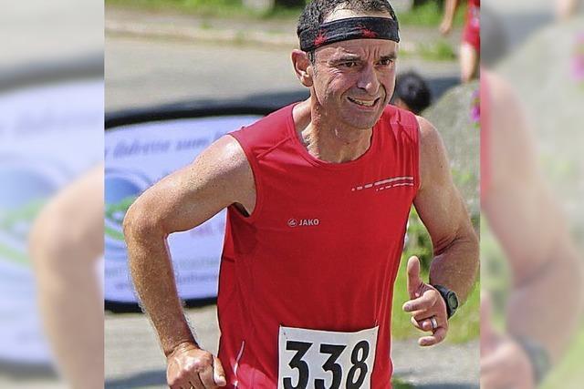 Hanspeter Scherr läuft neuen Streckenrekord