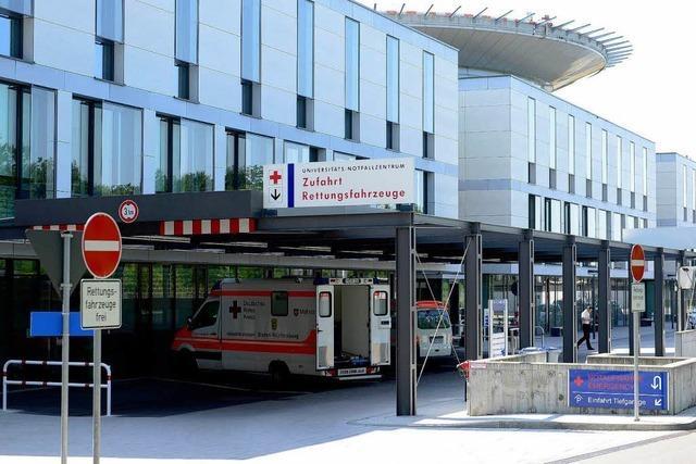Uniklinik muss beim neuen Notfallzentrum nachbessern