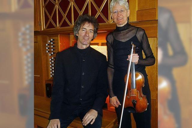 So klingt Romantik: Musik für Violine und Orgel