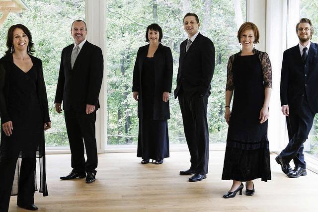 Das Ensemble Nordic Voices kommt nach Staufen