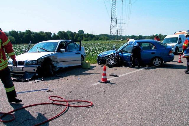 Eichstetten: Schwerer Verkehrsunfall – Zwei Verletzte