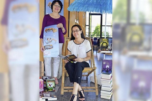 Erstmals bietet die Stadtbibliothek den Sommerleseclub für jugendliche Leser