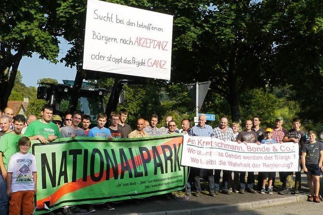 Waldbauern gegen den Nationalpark
