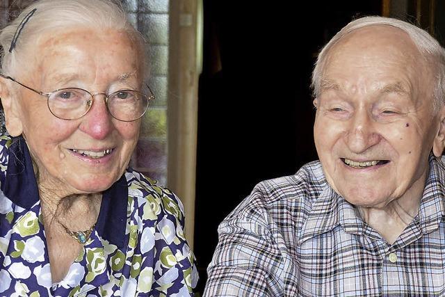 Seit 70 Jahren sind die Bürklins ein Paar