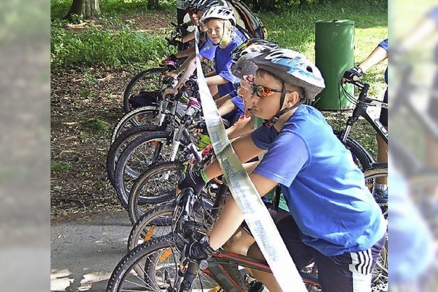 Radfahren und Laufen für eine gute Sache