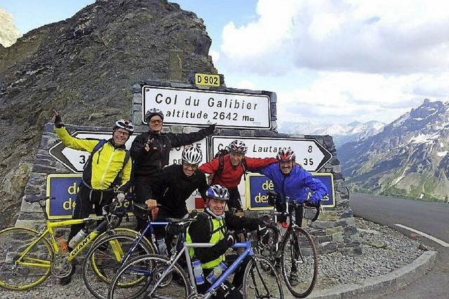 Über die Alpe d'Huez als Elztäler Vorhut der 100. Tour de France