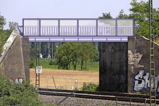 Gemeinderat Friesenheim bewilligt 30.000 Euro für Planung einer provisorischen Bahnbrücke