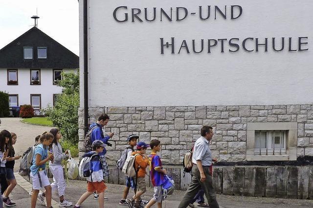 Hinterzarten hat ab 2015 keine Hauptschule mehr