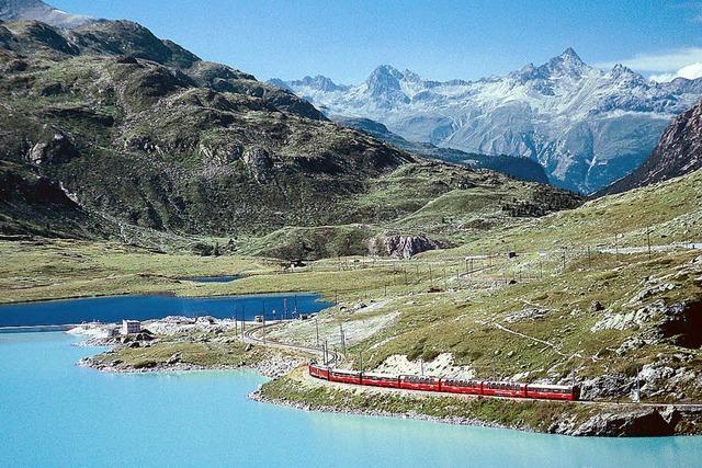 Sieben der schönsten touristischen Züge in Europa