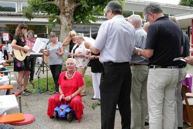 Hannelore Kaiser schaltet runter