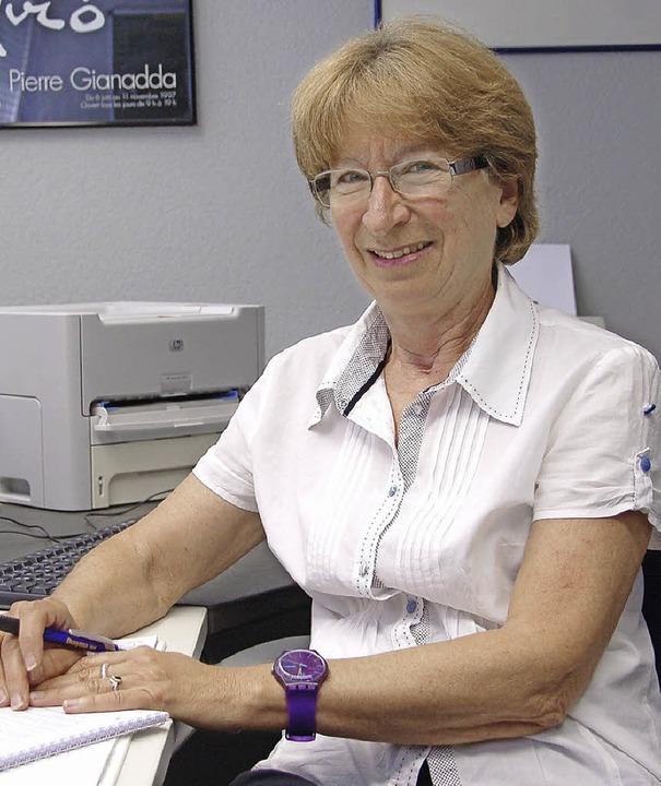 Ingrid Fugmann wird in der nächsten Woche als Schulleiterin verabschiedet.   | Foto: W. Beck