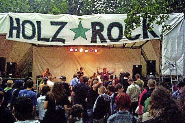 Holzrock-Festival: Zwei Tage Rock, Punk und Kunst