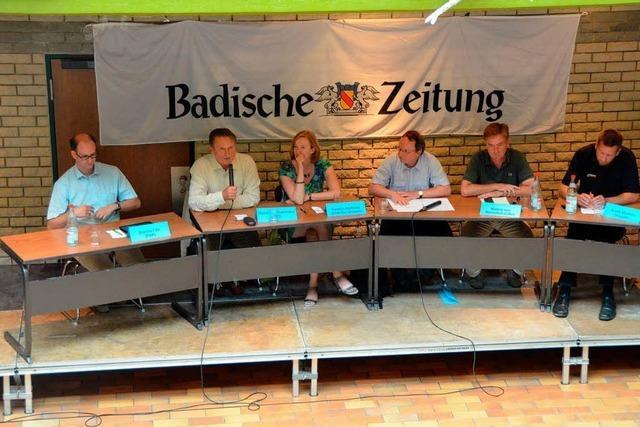 Bundestagskandidaten stellten sich den Fragen der Schüler