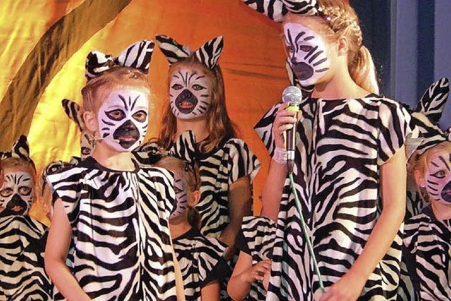 Von Langhälsen und Zebrastreifen