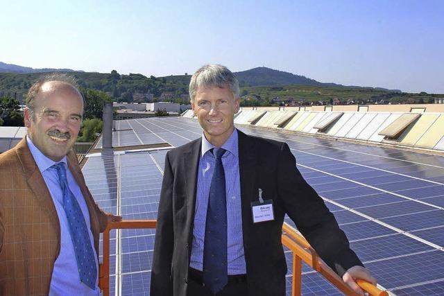 Bötzinges stärkstes Sonnenkraftwerk