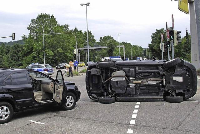 Vier Verletzte bei Unfall in Tumringen