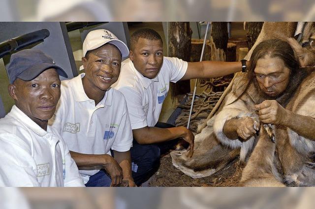 Namibische Fährtenleser helfen Forschern