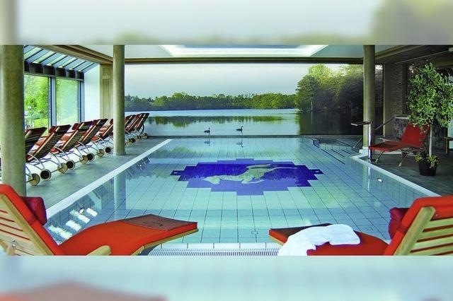 Mit Schwimmbad und Fitnesscenter