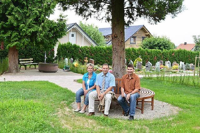 Friedhof Leiselheim in neuer Optik
